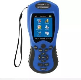 China Medidor Handheld industrial NF198 da terra do dispositivo de GPS com cor azul/preto fábrica