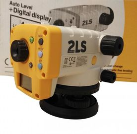 Nível AT-100D de Orion Digital do modelo novo de Topcon 2LS/cor amarela de AT-124D