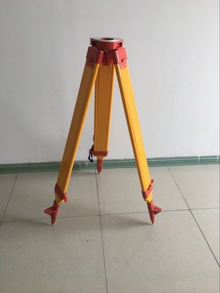 Total Station Accessories total station common use heavy wooden tripod